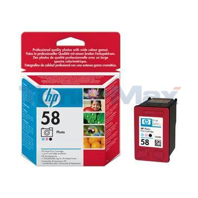 HP NO 58 INK CARTRIDGE PHOTO